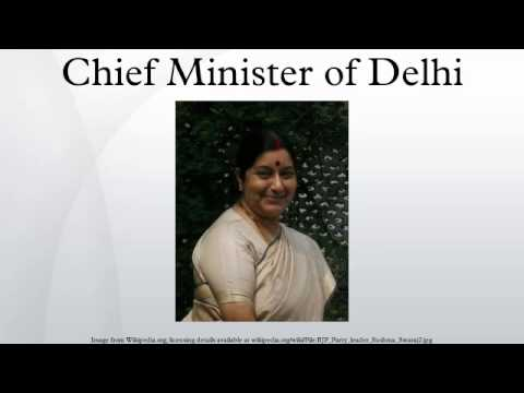 Chief Minister of Delhi
