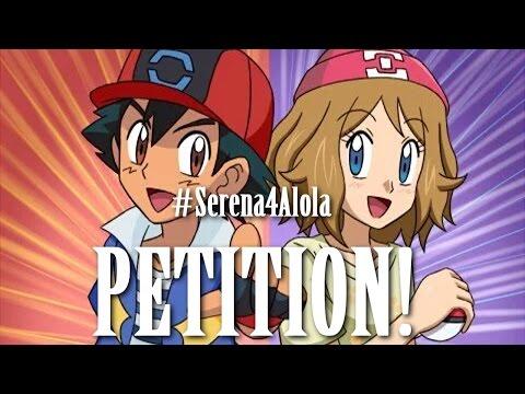 ☆SERENA 4 ALOLA REGION?// Pokemon Sun & Moon Anime PETITION!☆