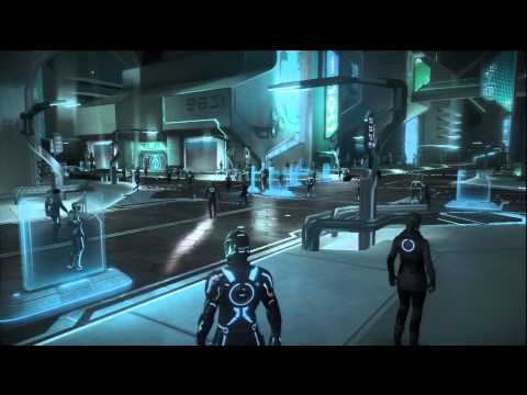 Tron: Evolution Walkthrough: Chapter 1 - Part 1 (X360/PS3/PC) [HD]