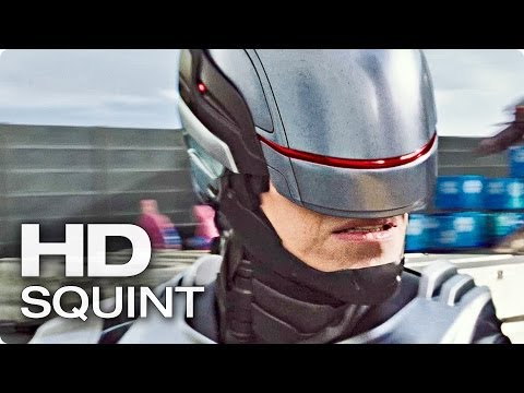 Exklusiv: ROBOCOP 2014 Squint Deutsch German | 2014 Movie [HD]
