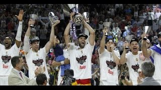 Real Madrid Euroleague Champion 2015