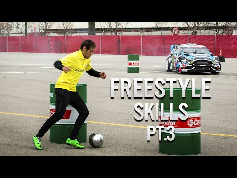 Neymar Jr • Freestyle Skills (Warm Up) • 2014 Pt.3