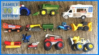 Car Toys for Kids - Cars Trucks Street Vehicles for Kids - Hot Wheels Matchbox tonka Truck Toys