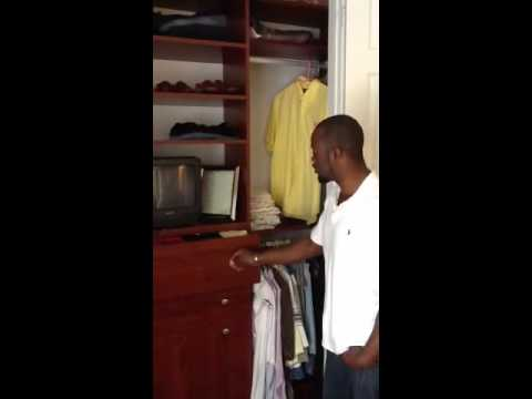 Ft Lauderdale  Mens Custom Closet (Mr. Lindsay)