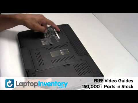 Dell Inspiron 1525 1545 Battery Replacement Guide - Install Fix Replace - Laptop Notebook