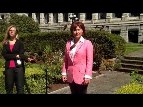 BC Premier Christy Clark speaks about the Alberta election -- May 6, 2015