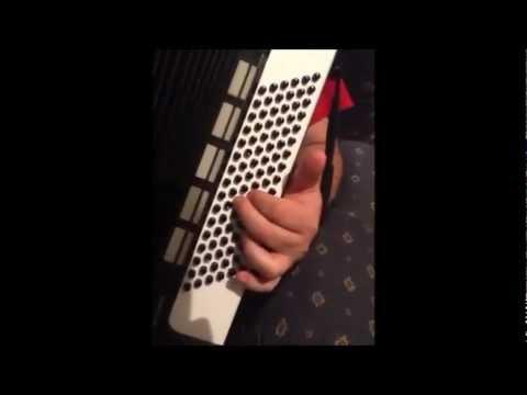 Como aprender a tocar acordeon de botões - (Os Baixos)