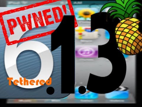 Jailbreak iOS 6.1.3 Deutsch tethered iPod Touch 4g iPhone 3Gs iPhone 4