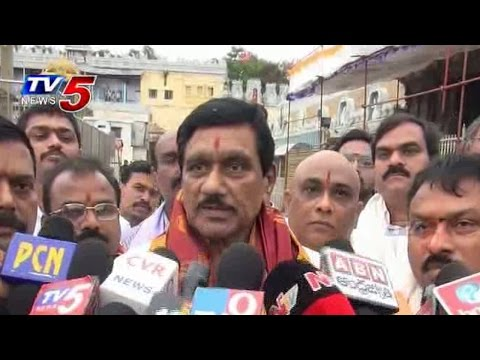 Red Sandalwood Money For AP Development | K. E. Krishnamurthy : TV5 News