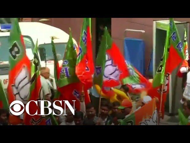 India's Prime Minister Modi headed for landslide victory