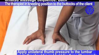 Shiatsu - Massaging the Back