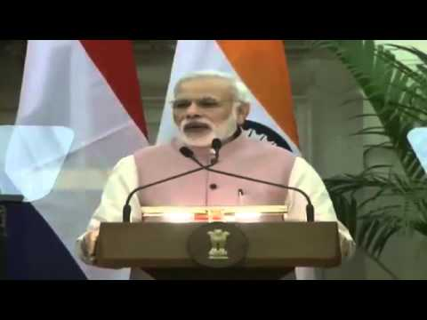 PM Shri Narendra Modi's statement at Joint Press Briefing with Prime Minister of Netherlands