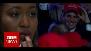 US Election: Cheers and Tears - BBC News