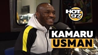 UFC Welterweight Champion Kamaru Usman On Colby Covington, McGregor + Not Impressed By Masvidal