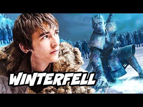 Game Of Thrones Season 8 Winterfell Dragon Secrets And Arya