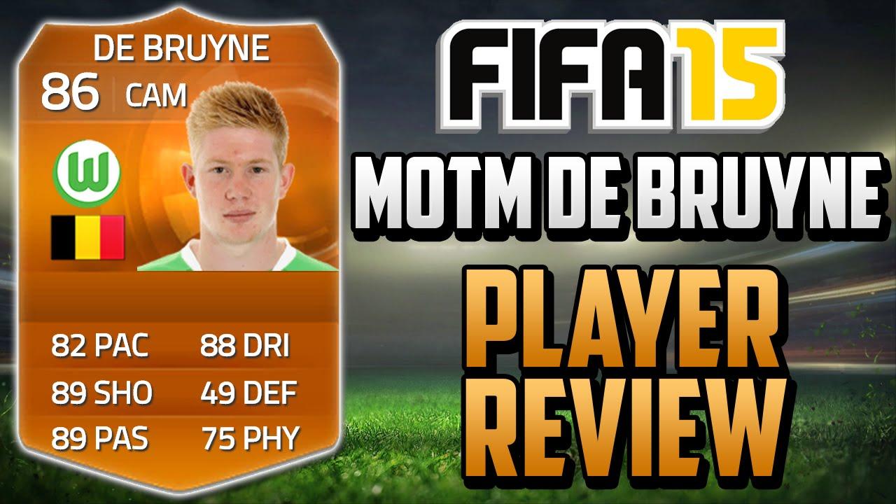 Ultimate Team » FUT15 MOTM Orange — Де Брюйне и