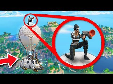 WHAT HAPPENS IF YOU STAY ON THE VAN AFTER SOMEONE WINS?? | Fortnite Battle Royale