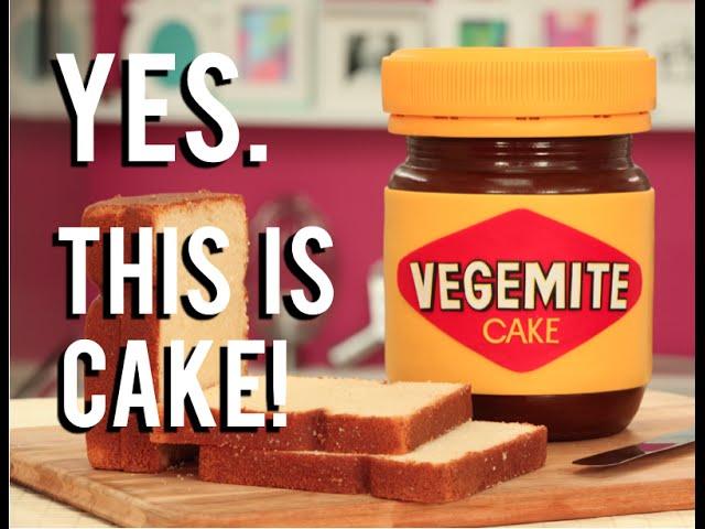 How To Cake A VEGEMITE CAKE Chocolate Cakes Layered With