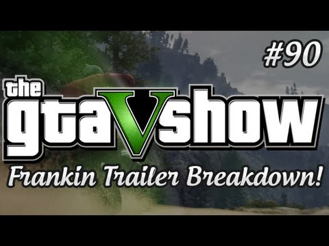 GTA 5 - GTA 5 Franklin Trailer Breakdown Analysis (w/ Olli43)