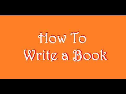 How To Write - How to Write a Book: Day 1 Prewriting