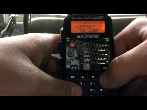 How to program Baofeng UV5R without usb cable