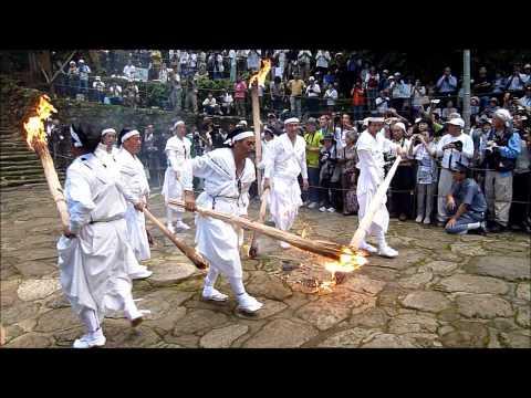 那智の火祭り2011(南紀勝浦温泉旅館組合撮影) 2011年7月14日