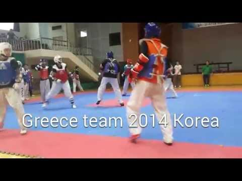 Taekwondo training in Korea Summer 2014 Image 1