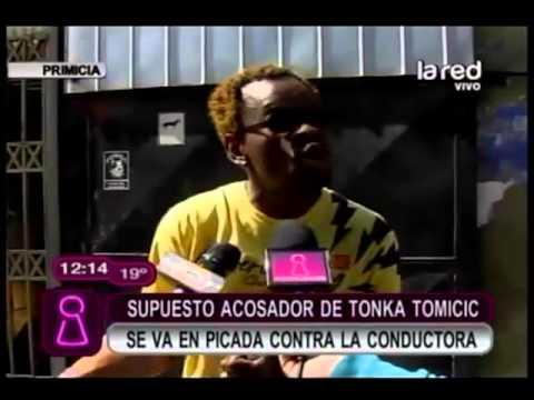 Supuesto acosador de Tonka desmiente amenazas