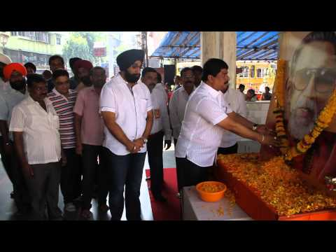 Ashok Vaity Pays Homage To Balasaheb Thackeray at Saibaba Temple...