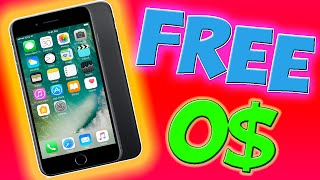 How to get a FREE iPhone 7!! (Legally)