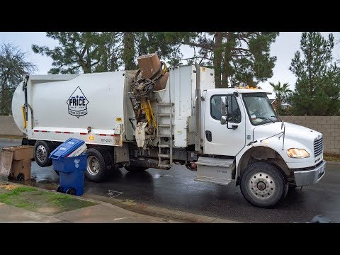 Freightliner M2 - KANN Curb Master SLEA Garbage Truck