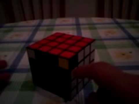 Tutorial de las paridades de esquinas del cubo de Rubik 4x4x4