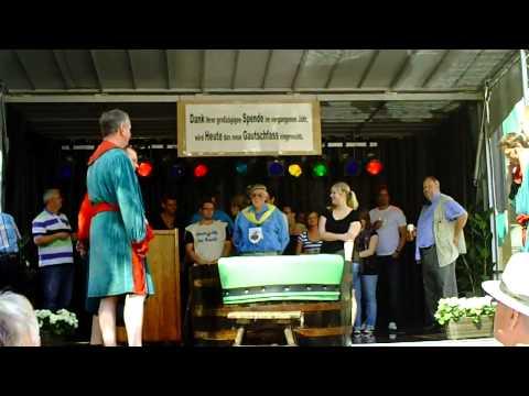 19. Gautschfest am Samstag, 20.08.2011 auf dem Markt in Haltern am See, Kornutin  Sara