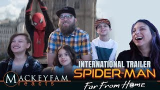 SPIDER-MAN: FAR FROM HOME – International Teaser Trailer- REACTION and REVIEW!!!