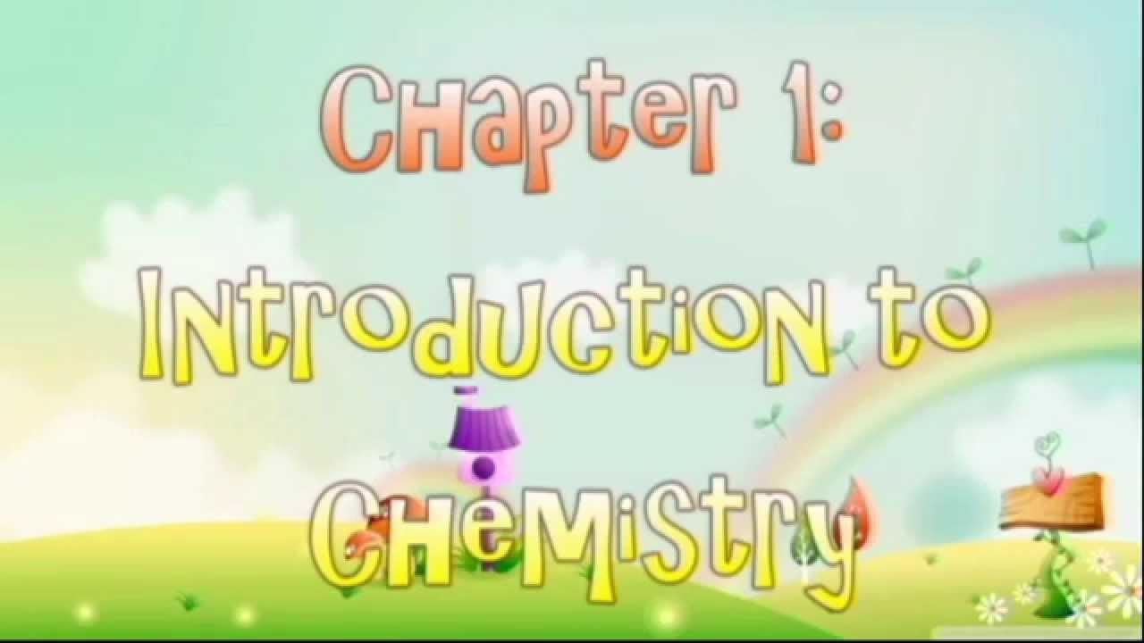 chemistry form 4 chapter #1 youtube er