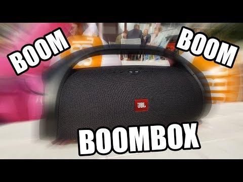 JBL BOOMBOX - Die neue Masterclass für Bluetooth-Speaker im HANDS-ON [IFA 2017]