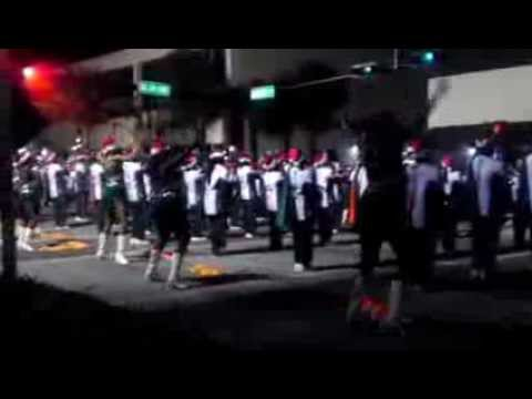 Blanche Ely High School Band at 2013 Yuletide Parade