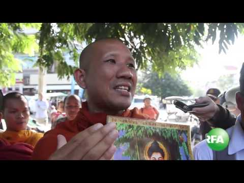 Authority Bars Monks from Hungry Strike in front of Chinese Embassy