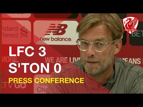 Liverpool 3-0 Southampton | Jurgen Klopp Post-Match Press Conference