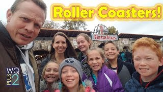 Riding Roller Coasters with Quints and Kaiya