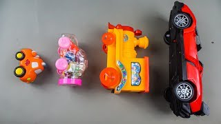 Learn Sizes & Learn Colors with Toy Vehicles for Kids, Learning Name of Cars for Kids