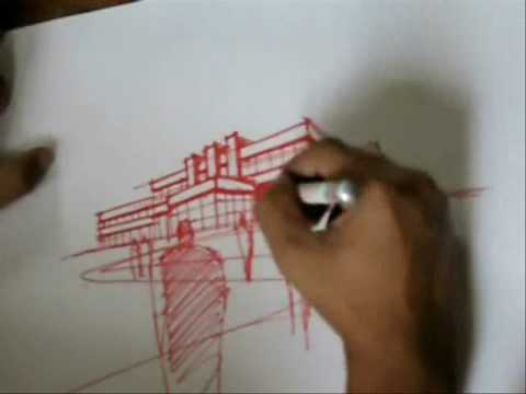 A 10 Minute Sketch Perspective Drawing Youtube