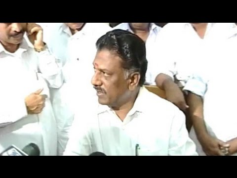 O Panneerselvam to be Tamil Nadus new Chief Minister