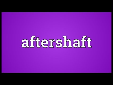 Header of aftershaft