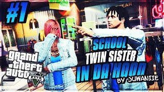 GTA 5 School Twin Sister Ep. 1 - Getting Ready For School 📚 (NEW SERIES)