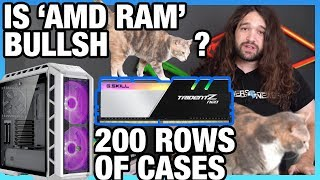 "Ask GN 108: Is ""AMD Optimized"" RAM BS? Show All 200 Case Tests?"