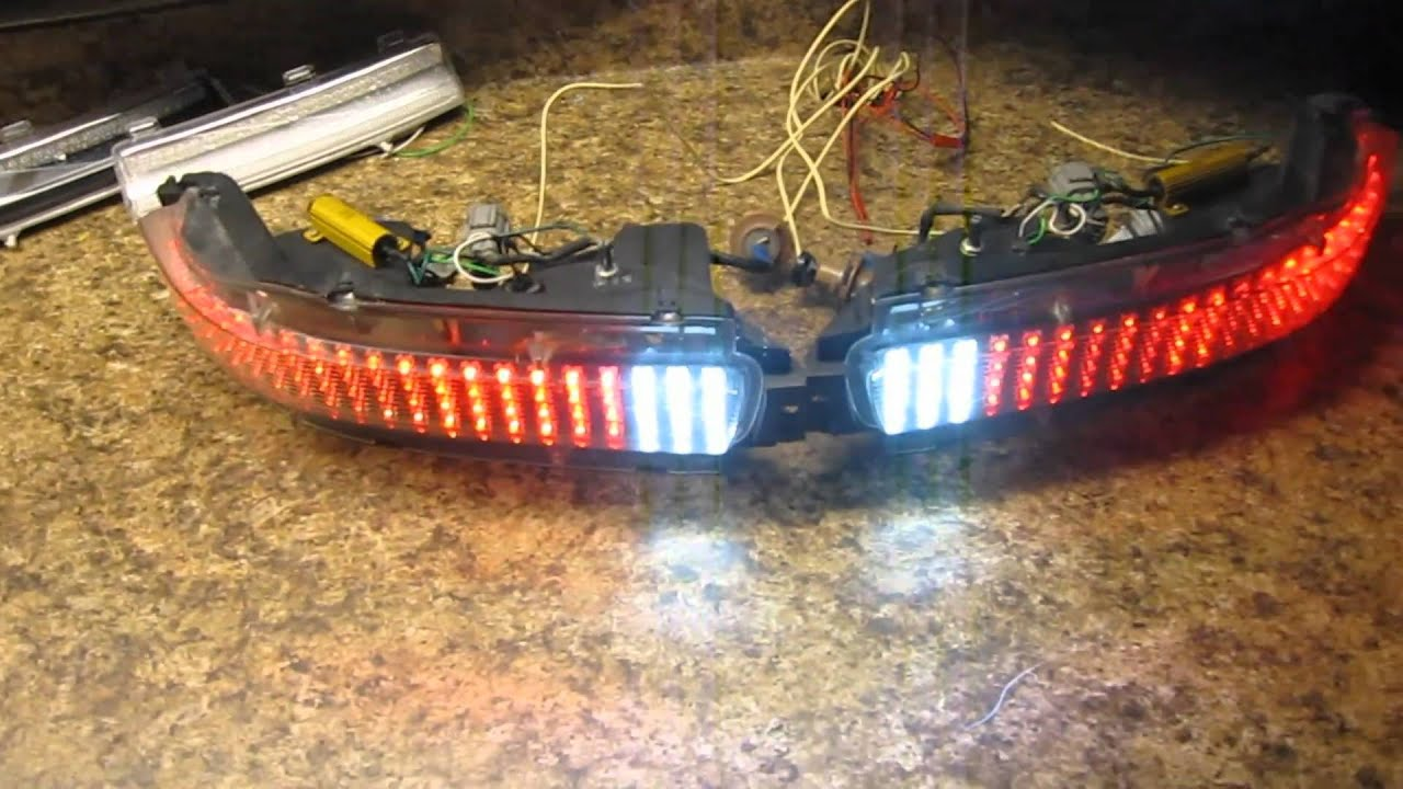 Nissan 350z Rear Led Turn Signal Reverse Sequential