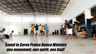 Saved to serve praise dance ministry. Mercy Chinwo:No more pain practice session.