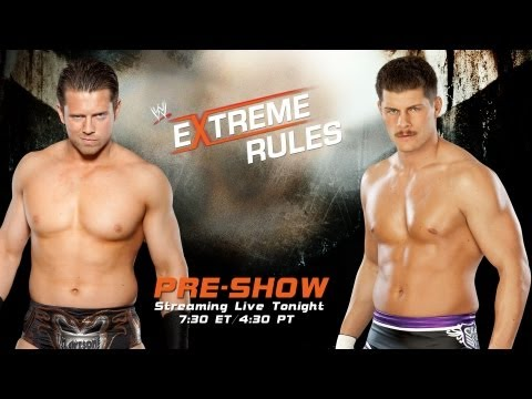 The Miz Vs. Cody Rhodes: Extreme Rules 2013 video