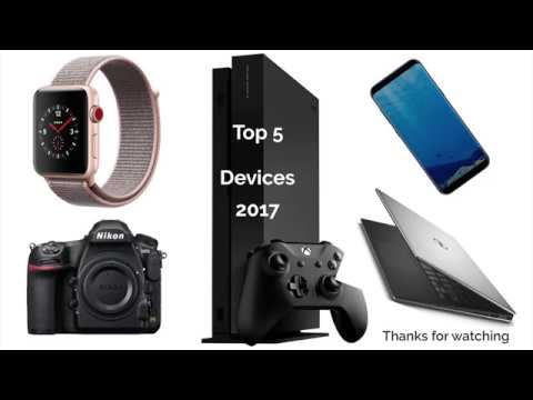 (Xbox one X Project Scorpion Edition)Top Five Tech Devices Review, November 2017